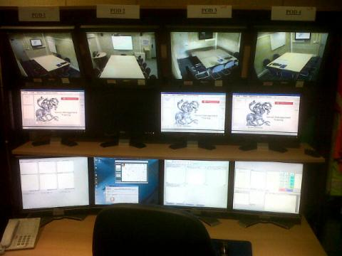 Buckinghamshire Fire and Rescue Service Hydra Suite Control Room 2