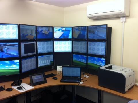 Cheshire Police Hydra Control Room 1