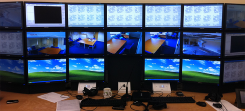 Cheshire Police Hydra Control Room 2