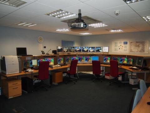 College of Polcing Hydra Suite Control Room - Ryton