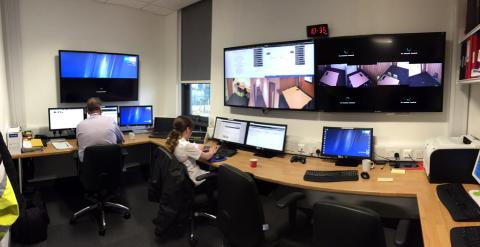 County Durham and Darlington Hydra Suite Control Room