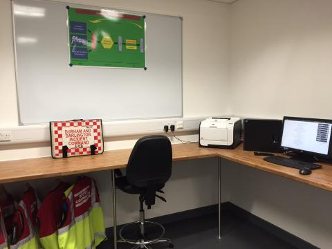County Durham and Darlington Hydra Suite ISCU Room