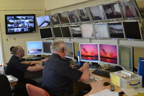 Dorset Fire and Rescue Hydra Suite Control Room 1
