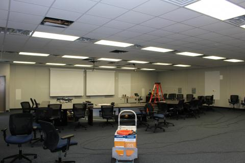 FLETC Hydra Plenary Room under Construction