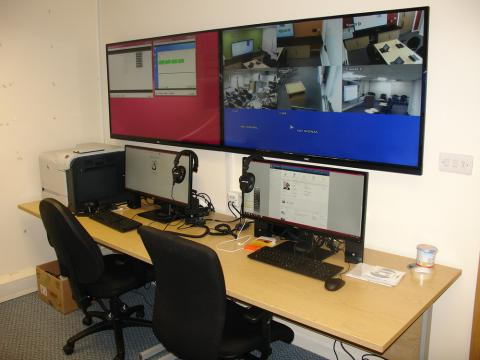 Immigration Enforcement Hydra Suite Control Room 2 - Leeds