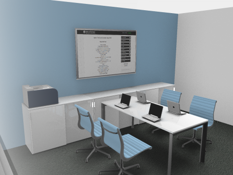 Lancashire Constabulary Hydra Suite Syndicate 3D Model