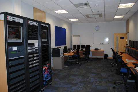 South Yorkshire Police Hydra Control Room 2