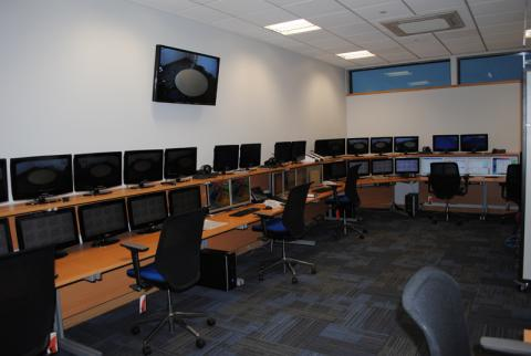 South Yorkshire Police Hydra Control Room 3