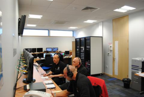 South Yorkshire Police Hydra Control Room 5
