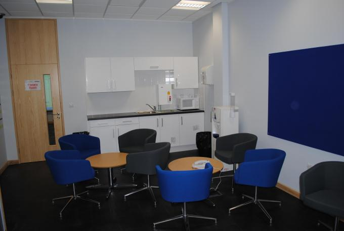 South Yorkshire Police Hydra Reception Breakout Area