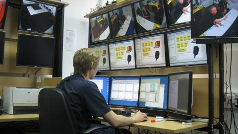 Tyne & Wear Fire Hydra Control Room