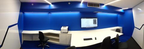 Victoria Police Blue Syndicate Room